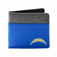 Los Angeles Chargers Pebble Bi-Fold Wallet