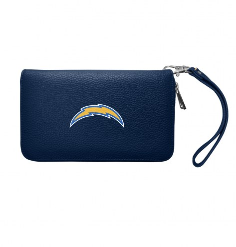 Los Angeles Chargers Pebble Organizer Wallet