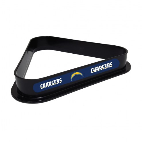 Los Angeles Chargers Pool 8 Ball Rack