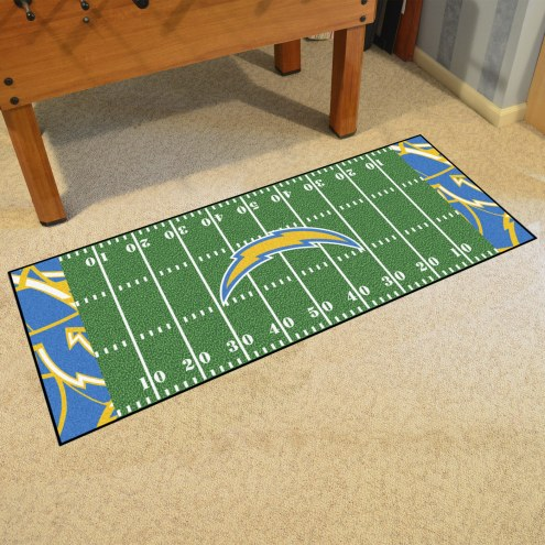 Los Angeles Chargers Quicksnap Runner Rug