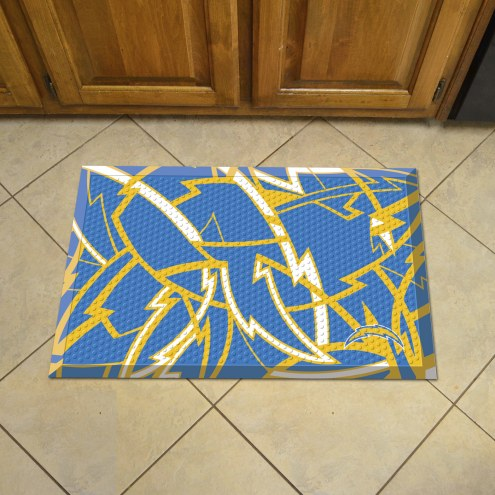 Los Angeles Chargers Quicksnap Scraper Door Mat