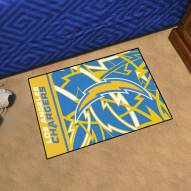 Los Angeles Chargers Quicksnap Starter Rug