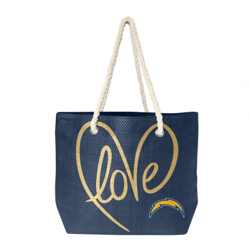 Los Angeles Chargers Rope Tote