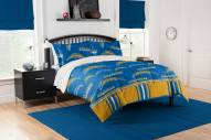 Los Angeles Chargers Rotary Queen Bed in a Bag Set