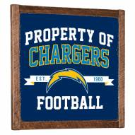 Los Angeles Chargers Vintage Wall Art