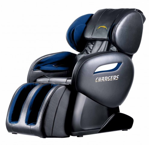 Los Angeles Chargers Shiatsu Zero Gravity Massage Chair