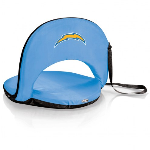 Los Angeles Chargers Sky Blue Oniva Beach Chair