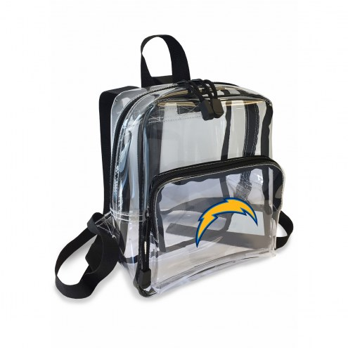 Los Angeles Chargers Stadium Friendly Clear Mini Backpack