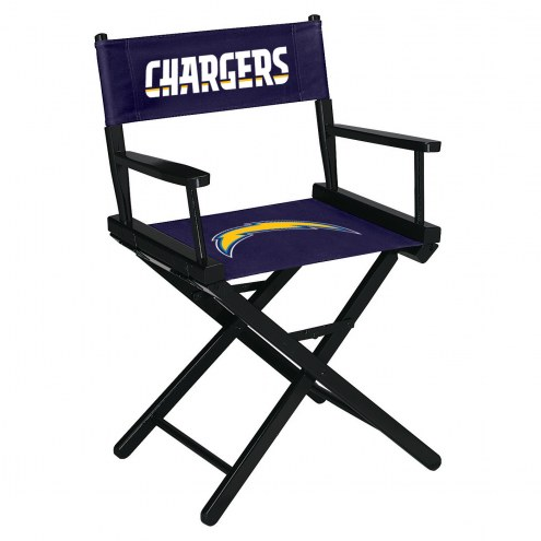 Los Angeles Chargers Table Height Director's Chair