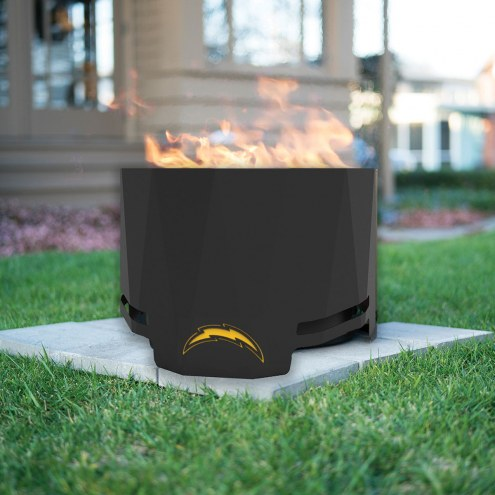 Los Angeles Chargers The Peak Patio Fire Pit on The Peak Patio Fire Pit id=49239