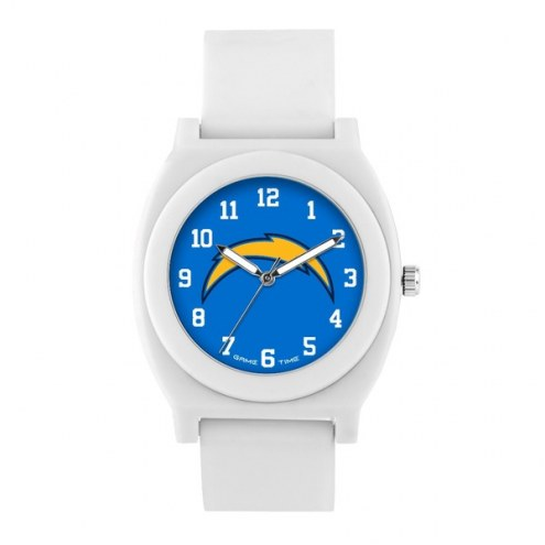 Los Angeles Chargers Unisex Fan White Watch