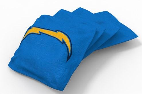 Los Angeles Chargers Cornhole Bags - Set of 4