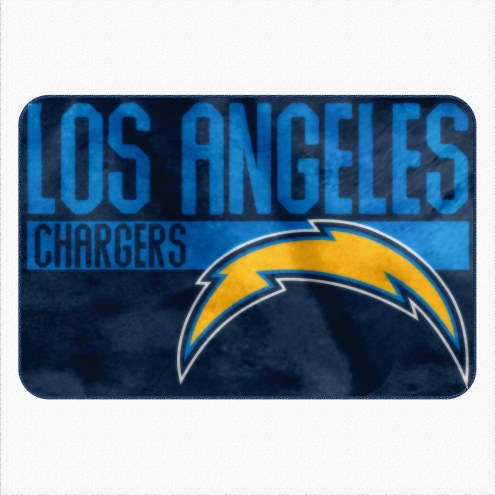 Los Angeles Chargers Worn Out Bath Mat