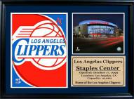 """Los Angeles Clippers 12"""" x 18"""" Photo Stat Frame"""