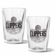 Los Angeles Clippers 2 oz. Prism Shot Glass Set