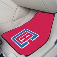 Los Angeles Clippers 2-Piece Carpet Car Mats