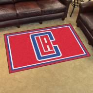 Los Angeles Clippers 4' x 6' Area Rug