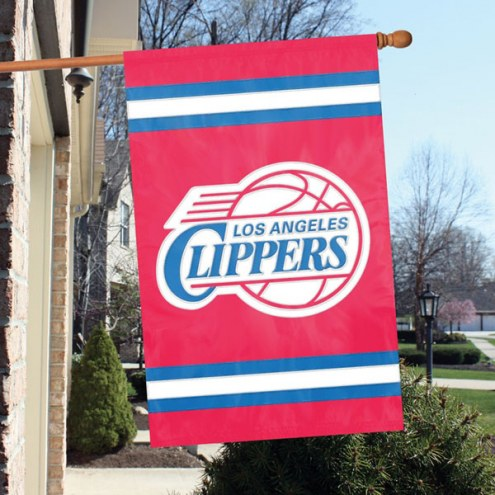 Los Angeles Clippers Appliqué 2-Sided Banner Flag