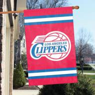 Los Angeles Clippers Applique 2-Sided Banner Flag