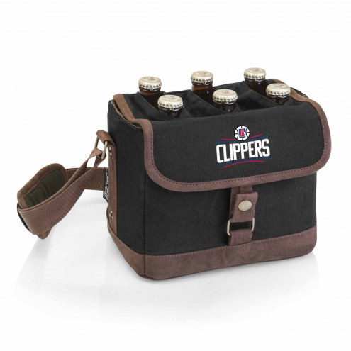 Los Angeles Clippers Beer Caddy Cooler Tote with Opener