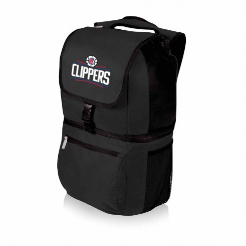 Los Angeles Clippers Black Zuma Cooler Backpack