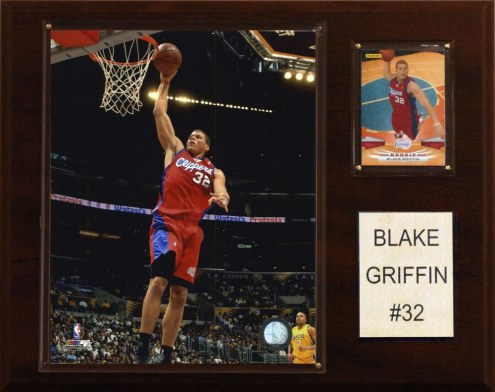 """Los Angeles Clippers Blake Griffen 12"""" x 15"""" Player Plaque"""