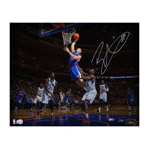 """Los Angeles Clippers Blake Griffin """"Poetry In Motion"""" Signed 16"""" x 20"""" Photo"""