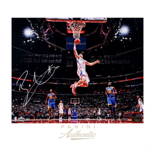 """Los Angeles Clippers Blake Griffin """"Soar"""" Signed 16"""" x 20"""" Photo"""