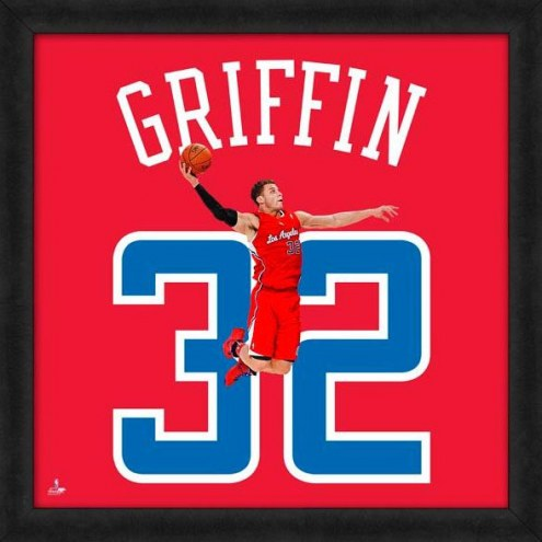 Los Angeles Clippers Blake Griffin Uniframe Framed Jersey Photo