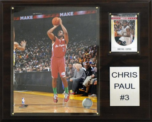 "Los Angeles Clippers Chris Paul 12"" x 15"" Player Plaque"