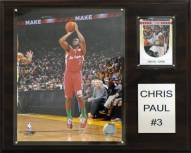 "Los Angeles Clippers Chris Paul 12"" x 15"" Player Plaque"
