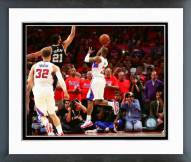 Los Angeles Clippers Chris Paul 2015 Western Conference Quarterfinals Framed Photo