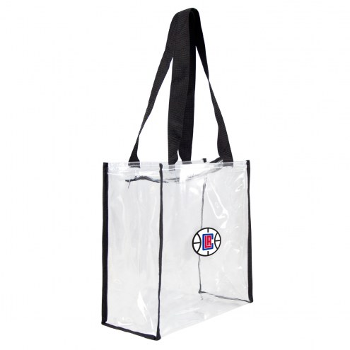 Los Angeles Clippers Clear Square Stadium Tote