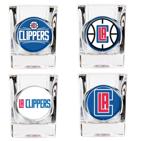 Los Angeles Clippers Collector's Shot Glass Set