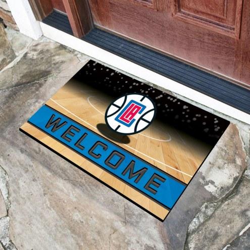 Los Angeles Clippers Crumb Rubber Door Mat