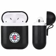 Los Angeles Clippers Fan Brander Apple Air Pods Leather Case