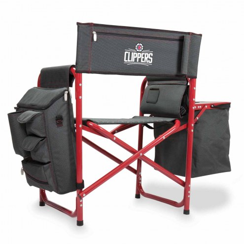Los Angeles Clippers Gray/Red Fusion Folding Chair