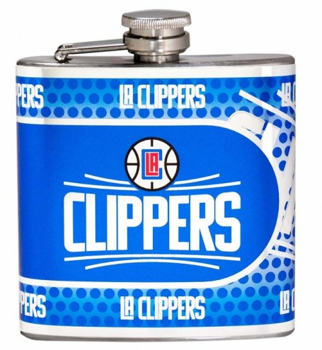 Los Angeles Clippers Hi-Def Stainless Steel Flask