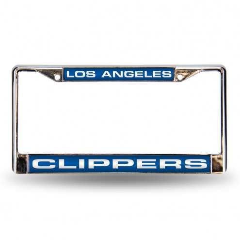 Los Angeles Clippers Laser Chrome License Plate Frame