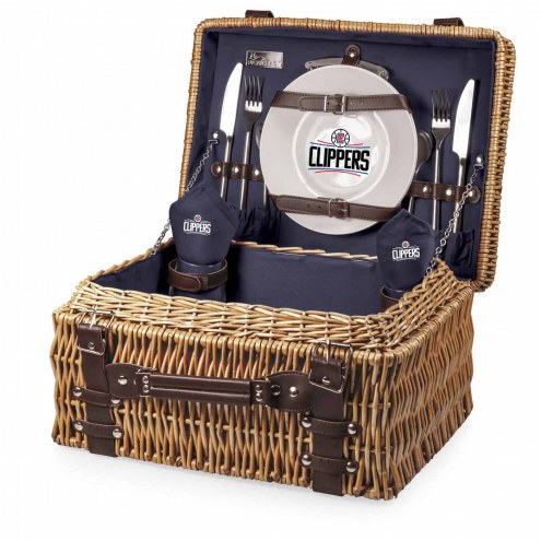 Los Angeles Clippers Navy Champion Picnic Basket