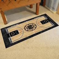 Los Angeles Clippers NBA Court Large Runner