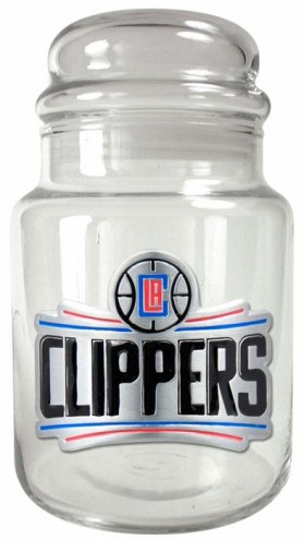 Los Angeles Clippers NBA 31 Oz Glass Candy Jar