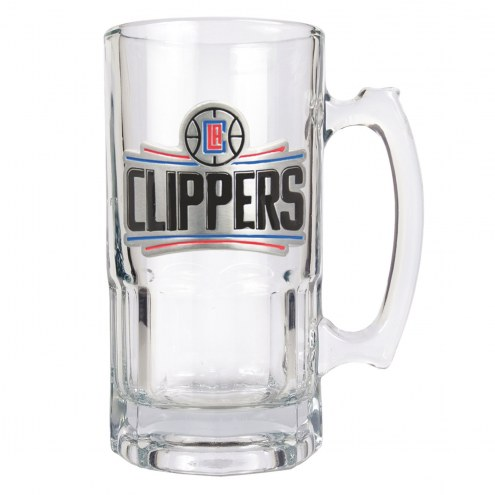 Los Angeles Clippers NBA 1 Liter Glass Macho Mug