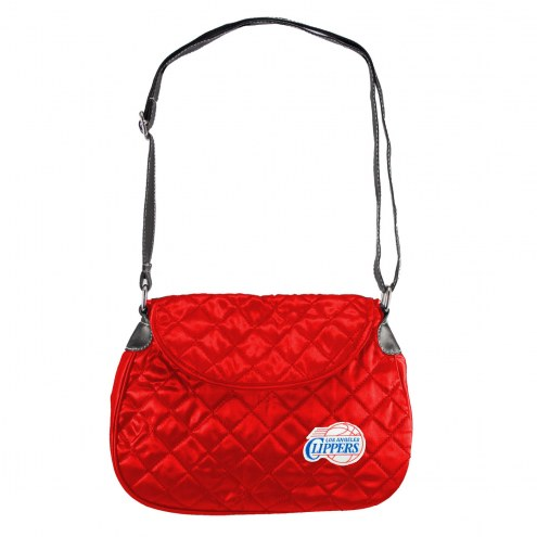 Los Angeles Clippers NBA Quilted Saddle Bag