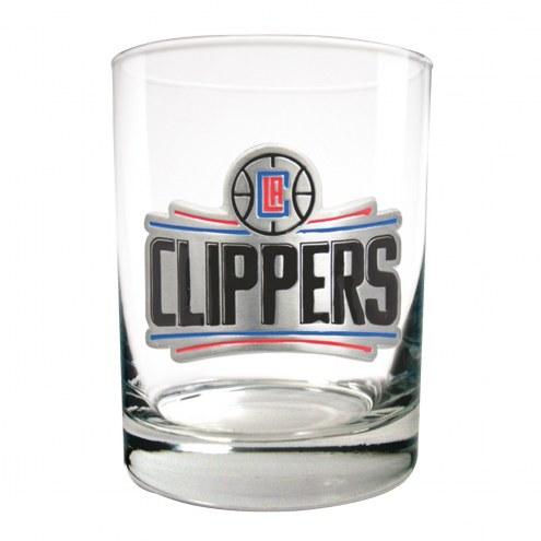 Los Angeles Clippers NBA 2-Piece 14 Oz. Rocks Glass Set