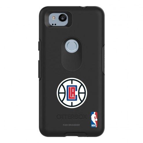 Los Angeles Clippers OtterBox Google Pixel 2 Symmetry Black Case