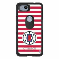 Los Angeles Clippers OtterBox Google Pixel 2 Symmetry Stripes Case