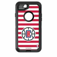 Los Angeles Clippers OtterBox iPhone 8/7 Defender Stripes Case