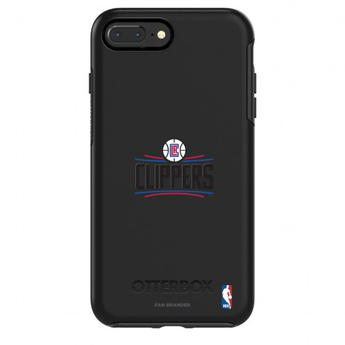Los Angeles Clippers OtterBox iPhone 8/7 Symmetry Black Case