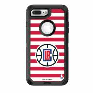 Los Angeles Clippers OtterBox iPhone 8 Plus/7 Plus Defender Stripes Case